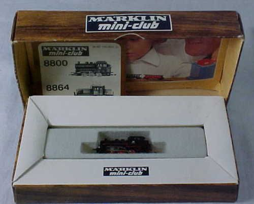 MARKLIN MINI CLUB Z SCALE 8800 LOCOMOTIVE IOB