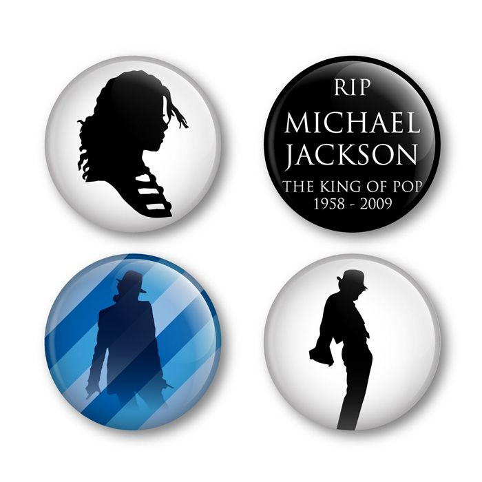 Michael Jackson Pop Badges Buttons Pins Shirts Albums