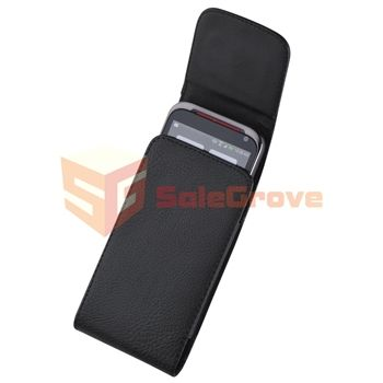 Leather Case+Privacy LCD+Car+AC Charger For HTC EVO 4G